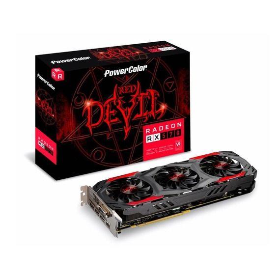 Placa de Vídeo PowerColor AMD Radeon RX 570 4GB GDDR5 Red Devil OC - AXRX570 4GBD5-3DH/OC