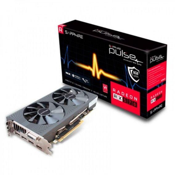Placa de Vídeo Sapphire AMD Radeon RX 570 8GB GDDR5 Pulse Dual-X OC - 11266-36-20G