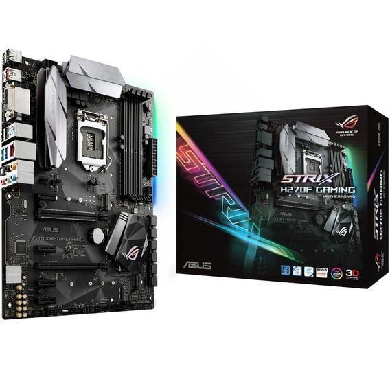 Placa Mãe Asus ROG Strix H270F Gaming Aura RGB - LGA1151