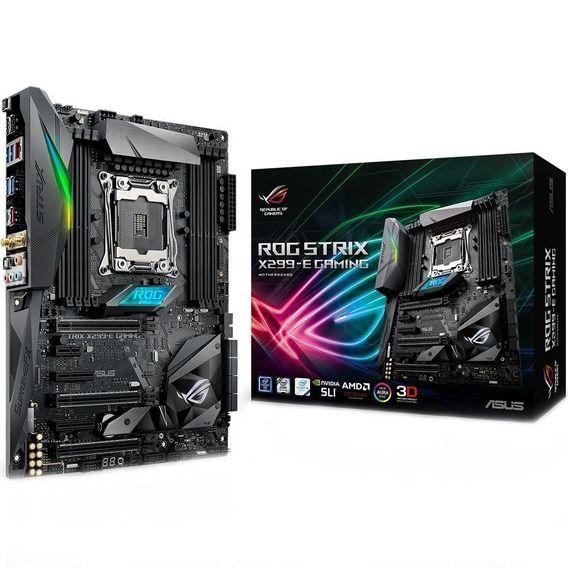 Placa Mãe Asus ROG Strix X299-E Gaming Aura RGB - LGA2066