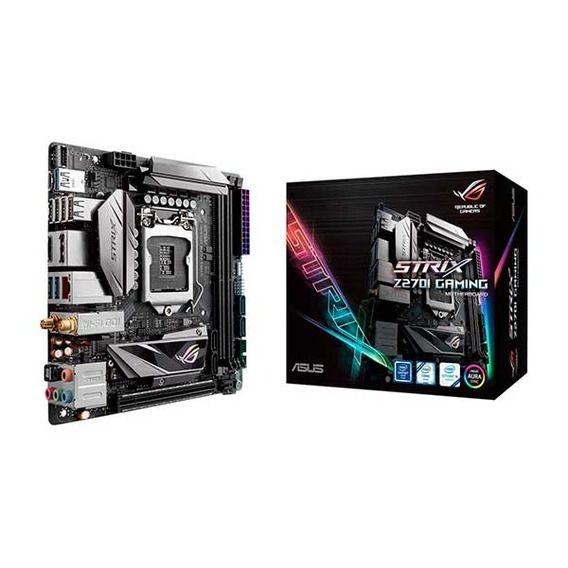 Placa Mãe Asus ROG Strix Z270I Gaming Aura RGB Mini-ITX - LGA1151
