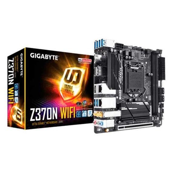 Placa Mãe Gigabyte Z370N WiFi Placa Mãe Gigabyte Z370N WiFi Mini-ITX - LGA1151