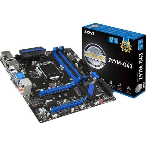 Placa Mãe MSI Z97M-G43 - Socket LGA1150
