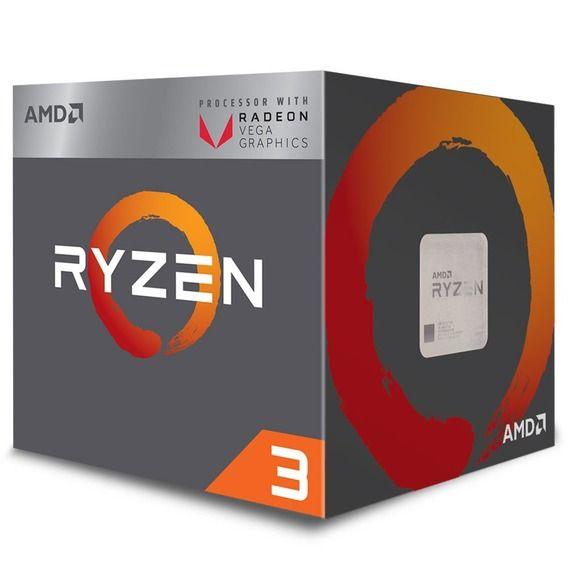 Processador AMD Ryzen 3 2200G 3.5 GHz 6MB Cache Radeon RX Vega 8 - AM4