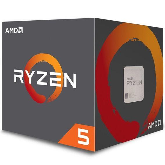 Processador AMD Ryzen 5 2600 3.4 GHz 19MB Cache - AM4