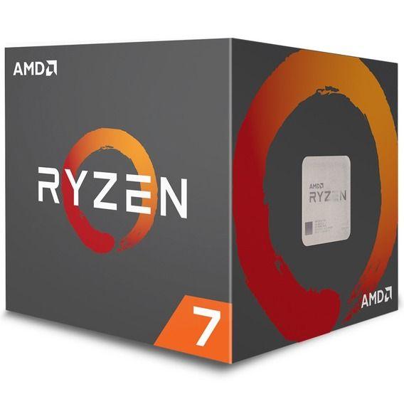 Processador AMD Ryzen 7 2700 3 Processador AMD Ryzen 7 2700 3.2 GHz 20MB Cache - AM4
