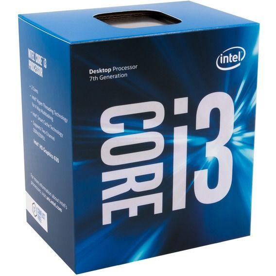 Processador Intel Core i3- 7100 3.9 GHz 3MB Cache - LGA1151