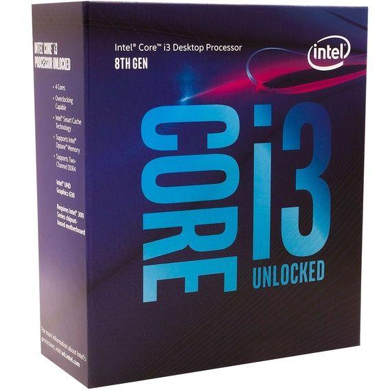 Processador Intel Core i3-8350 Processador Intel Core i3-8350K 4.0 GHz 8MB Cache - LGA1151