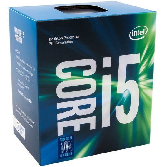 Processador Intel Core i5- 7400 3.00 GHz 6MB Cache - LGA1151