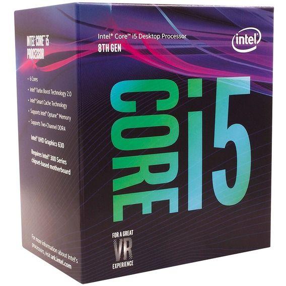Processador Intel Core i5-8400 2.8 GHz 9MB Cache - LGA1151