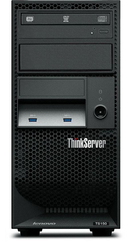 Servidor Lenovo ThinkServer TS150 Xeon E3-1225 v5 HD 1TB 8GB DDR4 FreeDOS - 70LV-A002BN