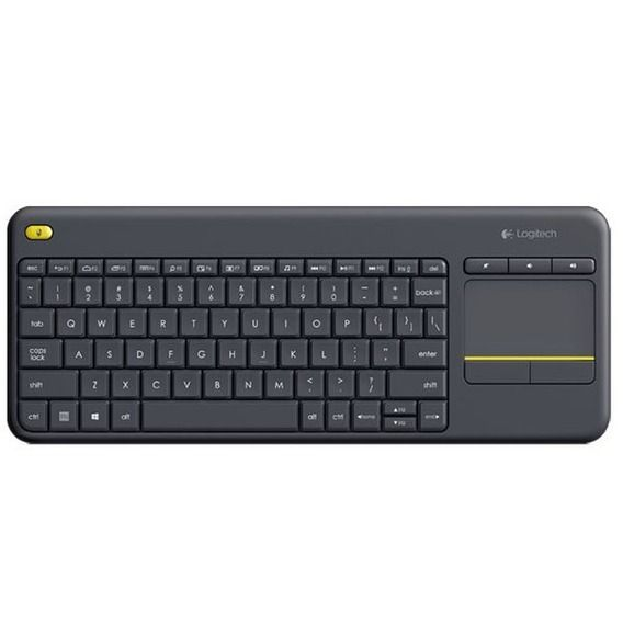 Teclado Logitech Wireless K400 Plus TV Touch - 920-007125