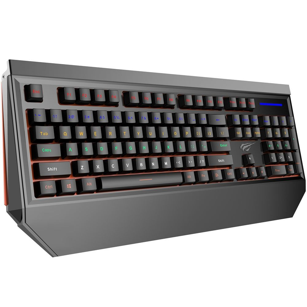 Teclado Mecânico Havit Gamer Outemu Brown Switch RGB LED - HV-KB370L