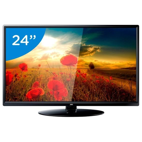 TV AOC LED 24' HD - LE24M1475 TV AOC LED 24' HD - LE24M1475