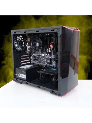 ΞCO PC - Workstation - Ryzen 3200G + 16GB HyperX + SSD Crucial 240GB + MSI B450M Bazooka
