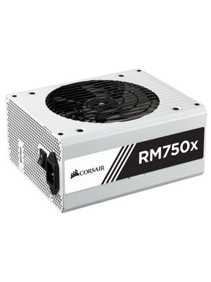 Fonte Corsair 750W 80 Plus Gold Modular Serie White RMX750 - CP-9020155-WW
