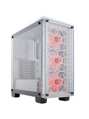 Gabinete Corsair 460X RGB Branco Crystal ATX - CC-9011129-WW
