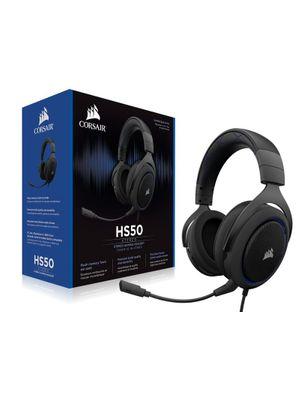 Headset Gamer Corsair HS50 Stereo Azul CA-9011172-NA