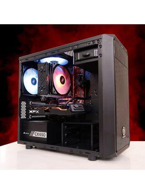 Little Demon V2 by Barr3l - Ryzen 3600 + RX 580 8GB + 512GB Nvme XPG S40G + 16GB DDR4 Crucial Ballistix E-Die