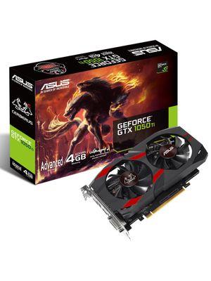 Placa de Vídeo ASUS Geforce GTX 1050 Ti CERBERUS 4GB 128Bits - CERBERUS-GTX1050TI-A4G