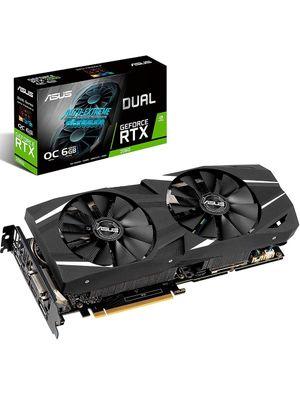 Placa de Video ASUS Geforce RTX 2060 Dual OC 6GB GDDR6 192-bit - DUAL-RTX2060-O6G