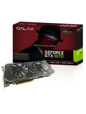 Placa de Video Galax Geforce GTX 1070 8GB EX GDDR5 256BITS - 70NSH6DHL4XE
