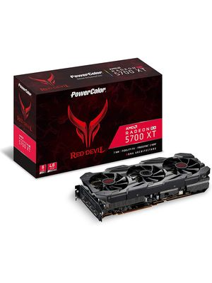 Placa de Video Powercolor RED DEVIL Radeon RX 5700 XT 8GB 256bit GDDR6 - AXRX 5700XT 8GBD6-3DHE/OC