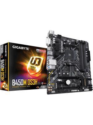 Placa Mãe Gigabyte B450M DS3H DDR4 AM4 M-ATX
