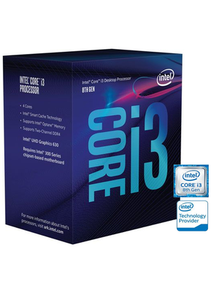 Processador Intel Core i3-8300 Coffee Lake LGA 1151 2.8Ghz 9MB Cache - BX80684I38300