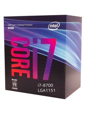 Processador Intel Core i7-8700 Coffee Lake LGA 1151 3.2Ghz 12MB Cache - BX80684I78700