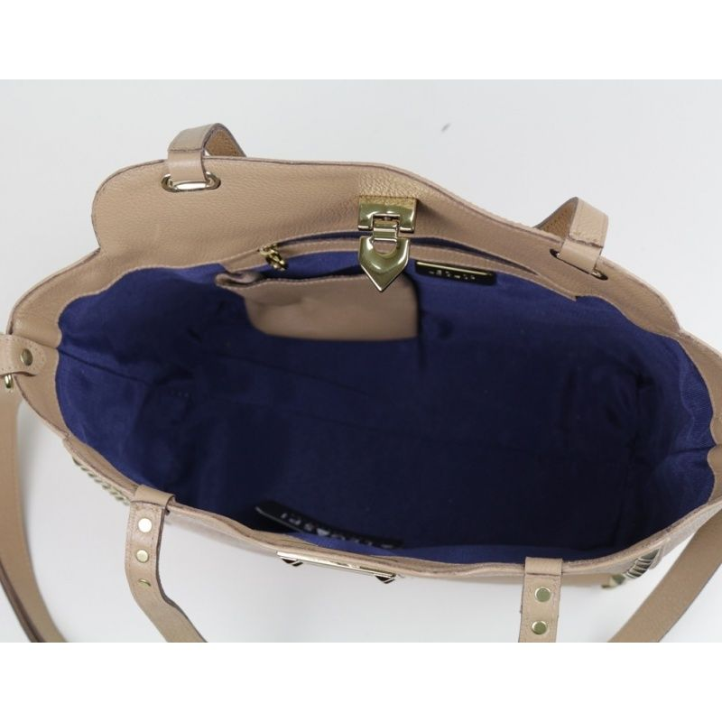 Bolsa de couro Agapanto 10464