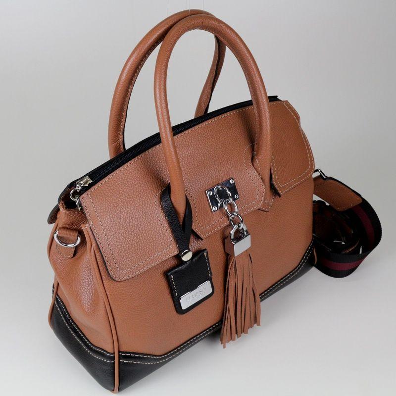 Bolsa de couro Afrodite 10514