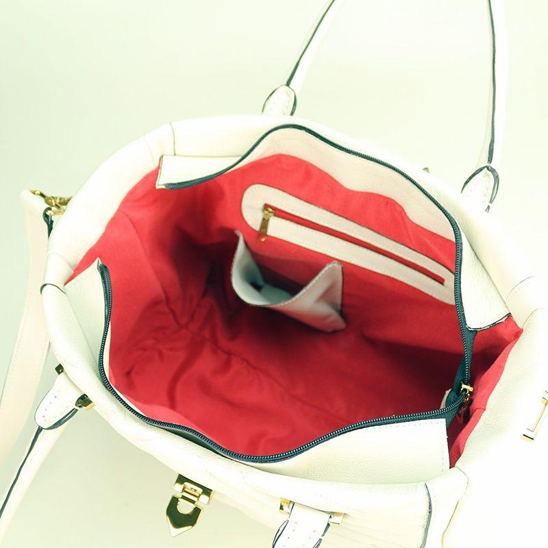 Bolsa de couro Claire 10628