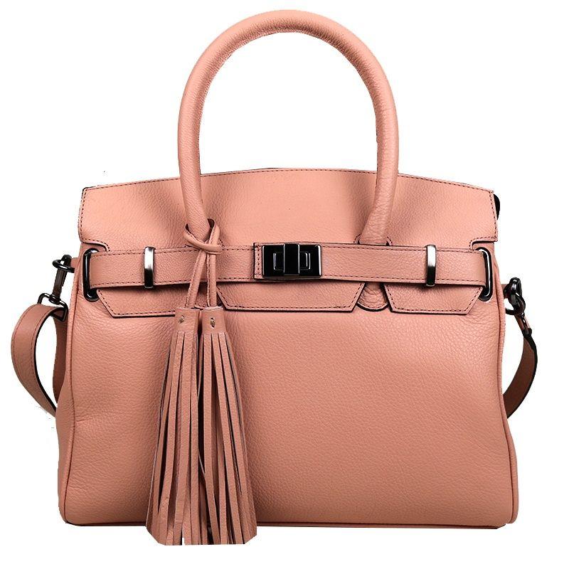 bolsa-feminina-rosa-com-alca-curta-e-alca-tiracolo-em-couro-legitimo-sofisticada