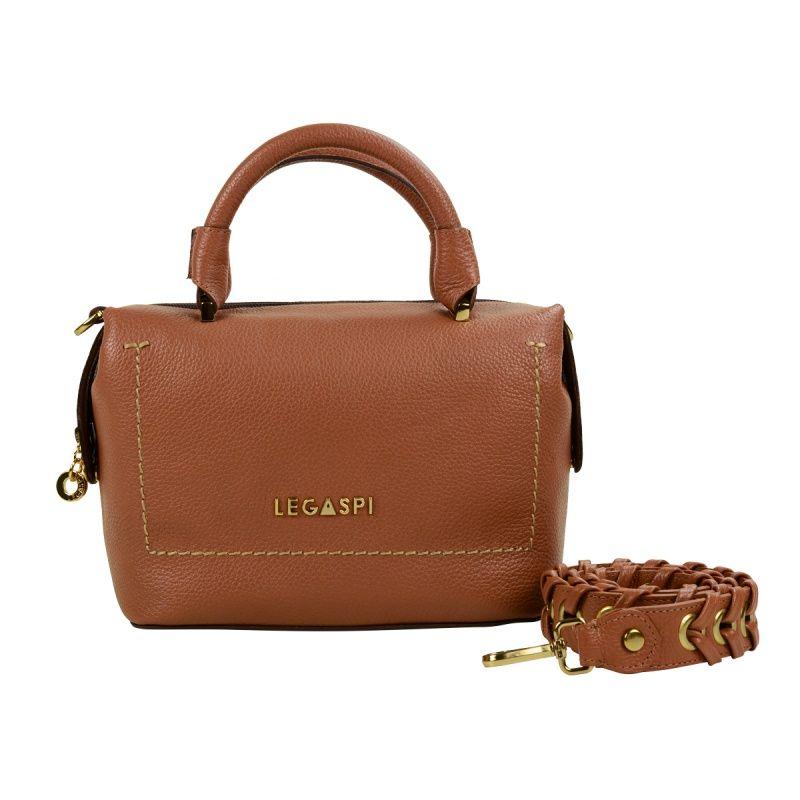 Bolsa de couro Fedra 10515