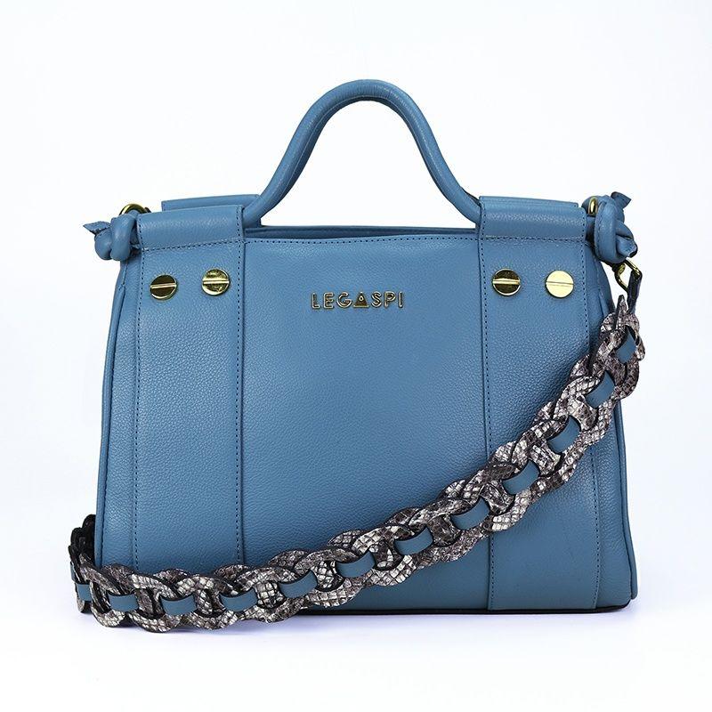 Bolsa de couro Marguerite 10631