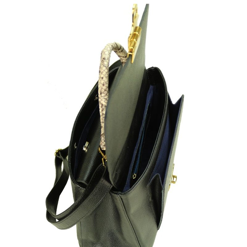 Bolsa de couro Simone 10533