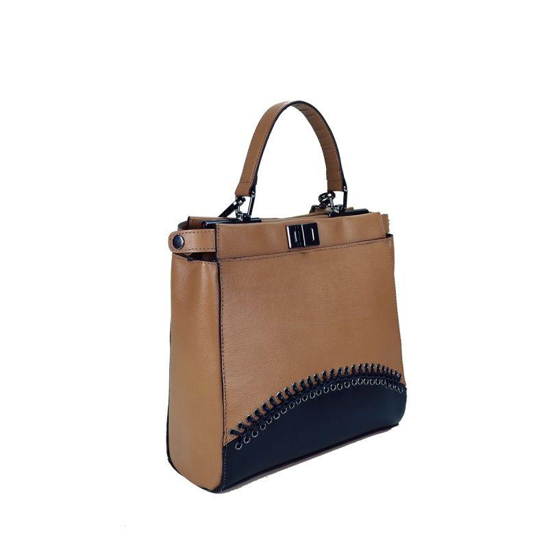 Bolsa de couro Steph 10592