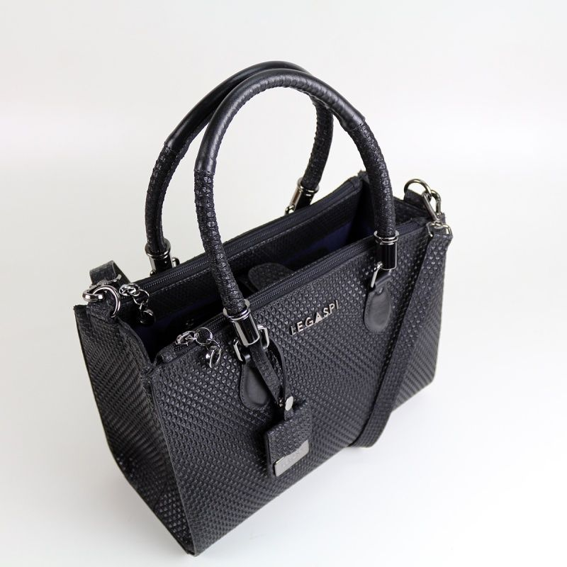 Bolsa em couro Lauren