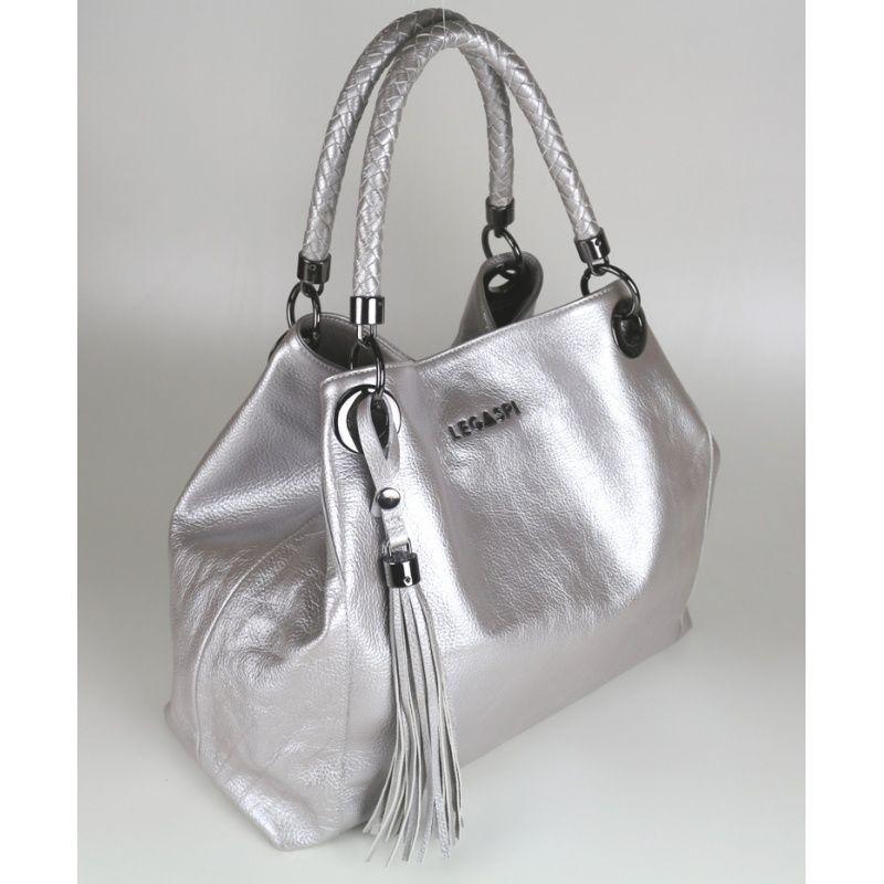Bolsa em couro Petúnia 10437