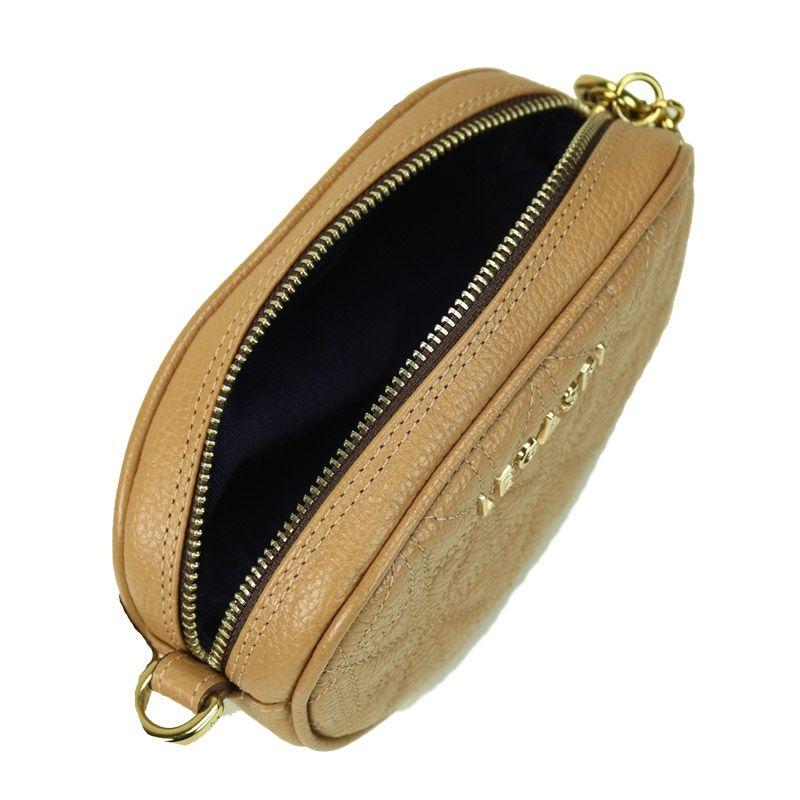 Bolsa-pochete de couro Penny 10601