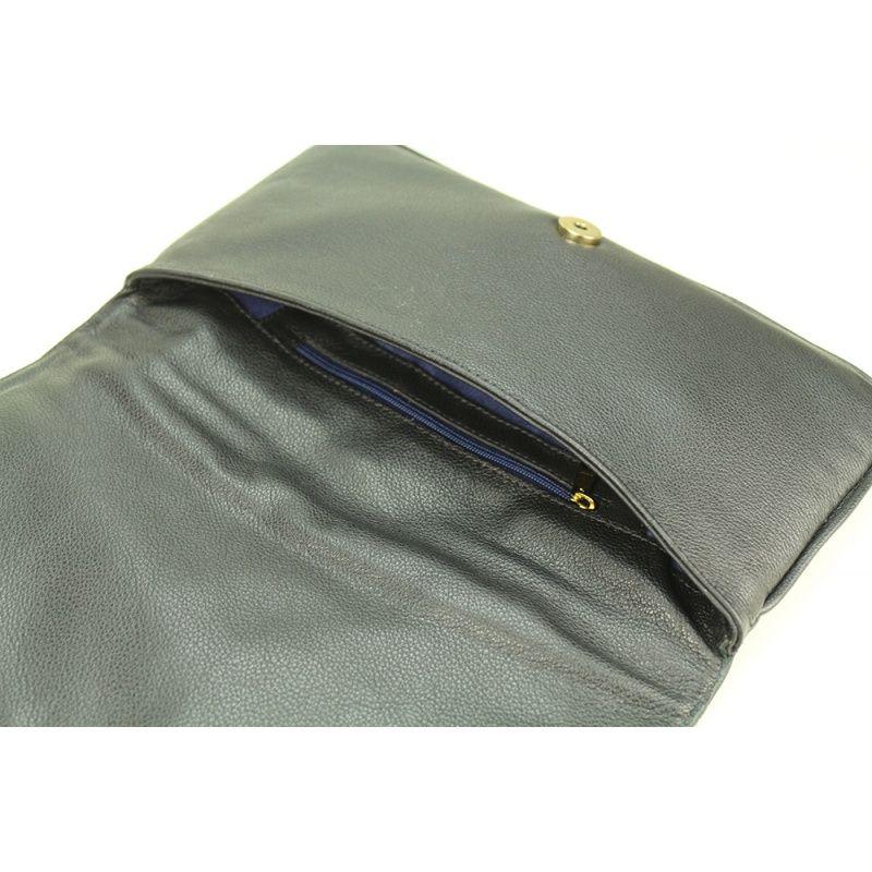 Clutch de couro Yumi 10612