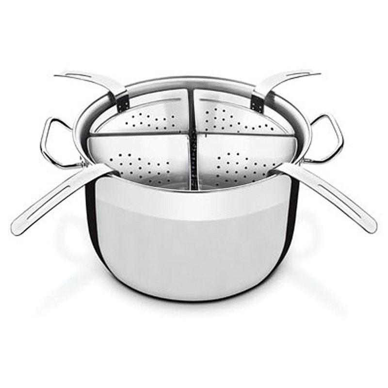 Jogo Cozi-Pasta Sem Fundo Triplo Inox Ø30Cm 13,50 Litros Professional Tramontina