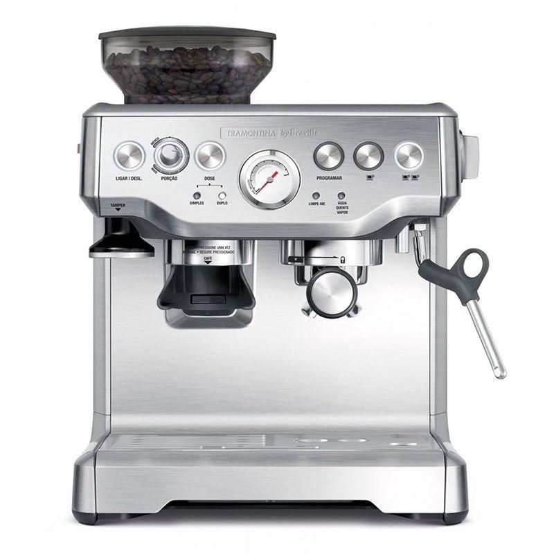 Cafeteira Elétrica Express Pro em Aço Inox 2 Litros 110V  by Breville Tramontina
