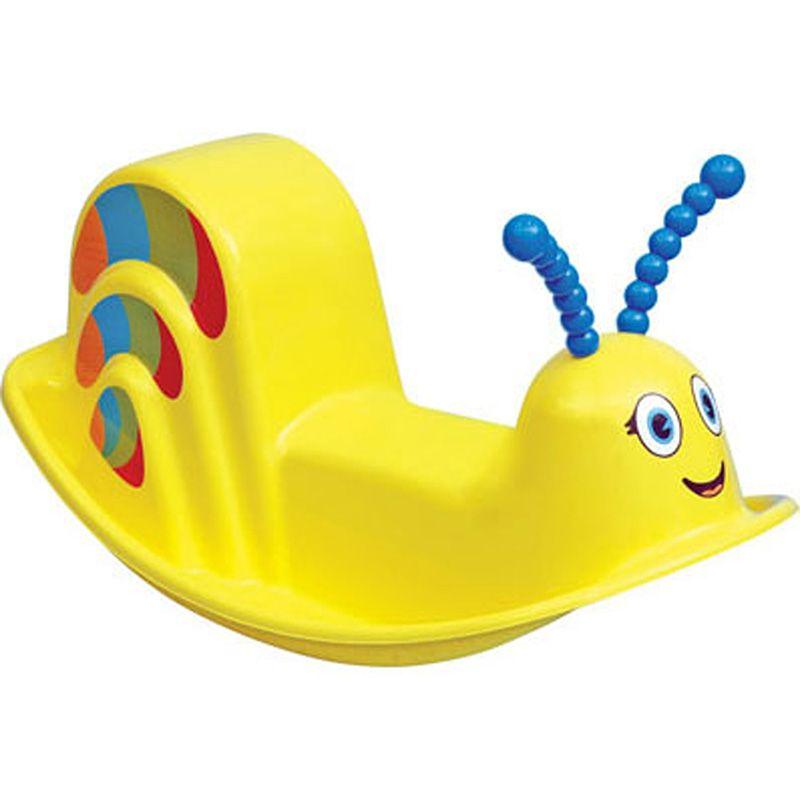Assento Plástico Infantil Balanço Dindon Amarelo Tramontina