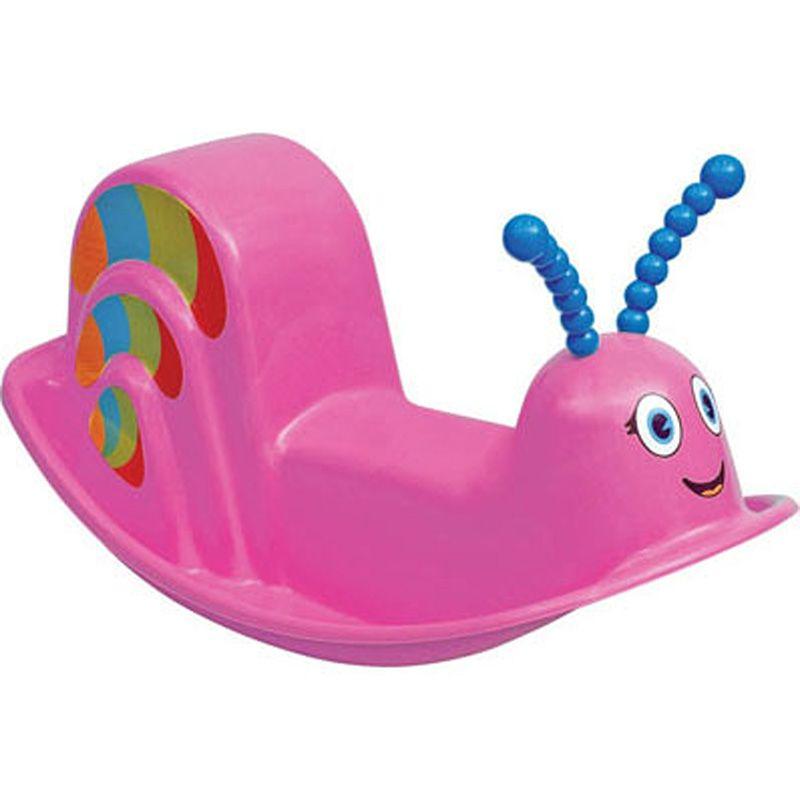 Assento Plástico Infantil Balanço Dindon Rosa Tramontina