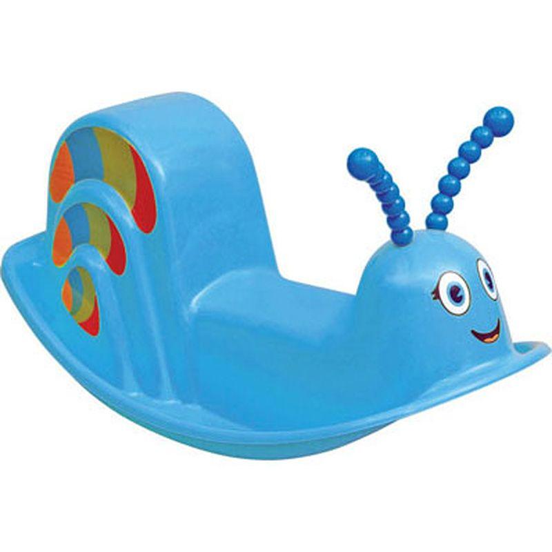 Assento Plástico Infantil Balanço Dindon Azul Tramontina