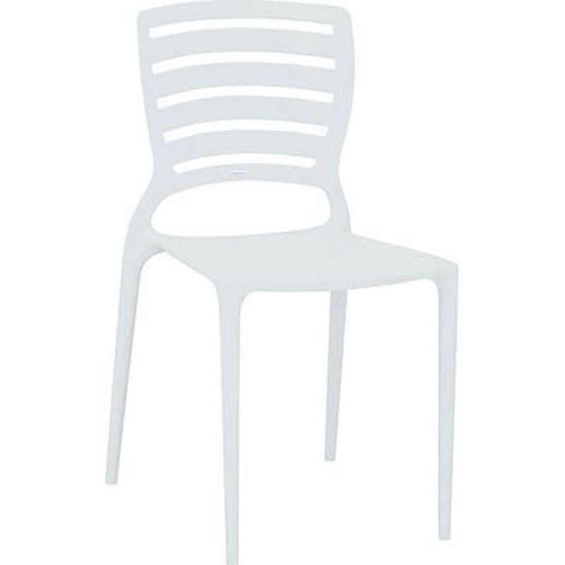 Cadeira Sofia Com Encosto Vazado Branco Summa Tramontina