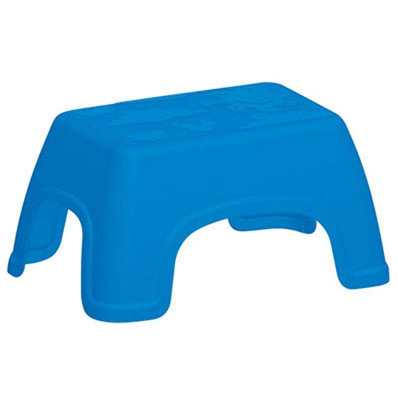 Banquinho Catty Azul Basic Tramontina