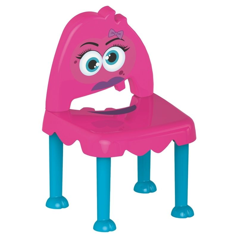 Cadeira Monster Azul/rosa Tramontina